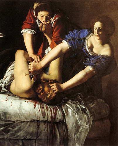 נאפולי, מוזיאון קפודימונטה, יהודית הורגת את הולפרנס