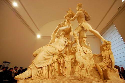נאפולי, המוזיאון הארכיאולוגי, שור פארנזה