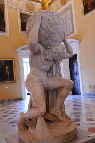 נאפולי, המוזיאון הארכיאולוגי, אטלס פארנזה