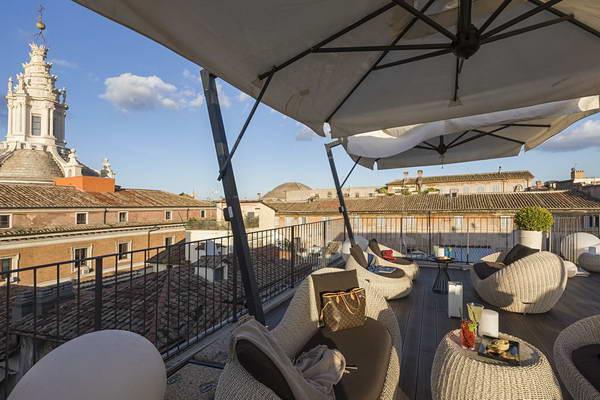 מלון במרכז רומא