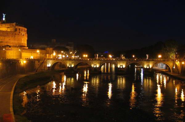 גשר סנט אנג'לו ברומא