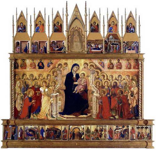 המאסטה, מריה כמלכה על כס מלכות