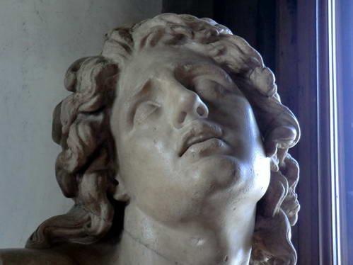 אלכסנדר הגוסס במוזיאון אופיצי, פירנצה