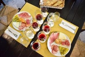 טעימות יין באומבריה