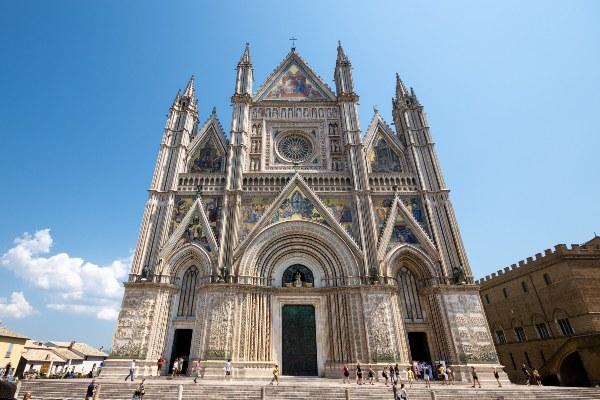 הקתדרלה באורבייטו, באומבריה