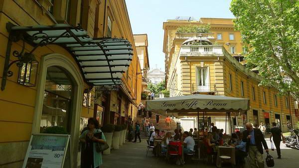 שדרת ויה ונטו, רומא
