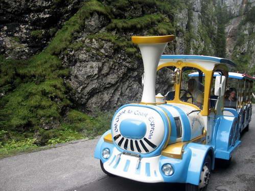 הרכבת הקטנה בקניון סוטוגודה, איטליה