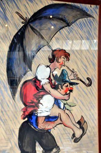 מוזיאון המטריות והשמשיות בג'ינייזה, צפון איטליה