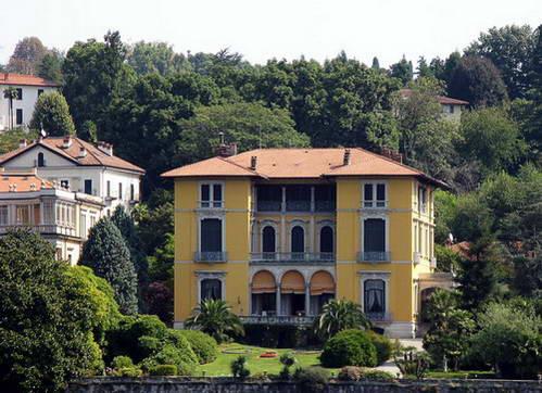 וילה ג'וליה, אגם מאג'ורה, צפון איטליה