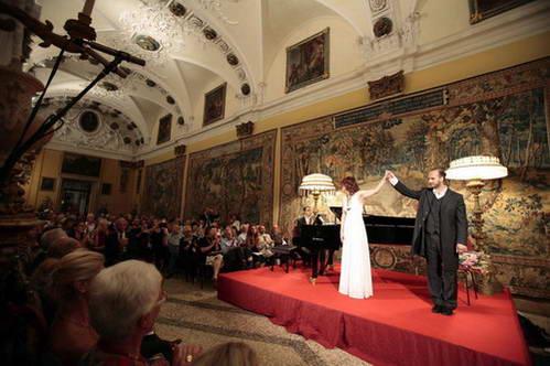 מופעים בפסטיבל סטרזה על איי בורומאו, איטליה