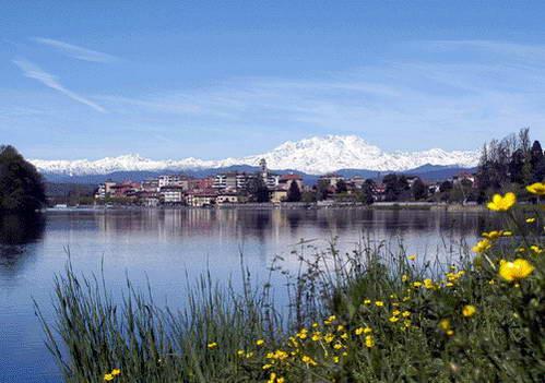 אגם מאג'ורה, העיירה ססטו קלנדה, צפון איטליה