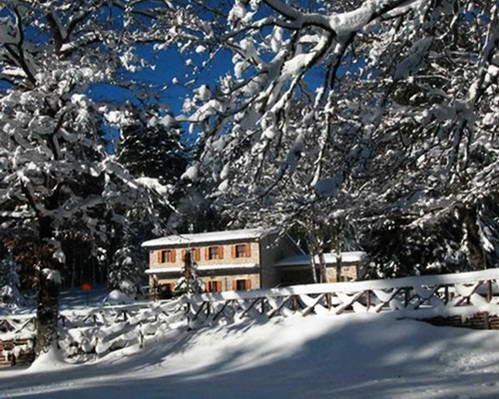 שלג בהרי מוליזה, דרום איטליה