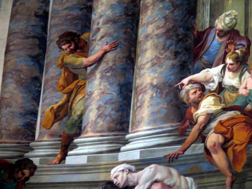 ציורי קיר בקפלה של סנטה מריה דלה סקאלה
