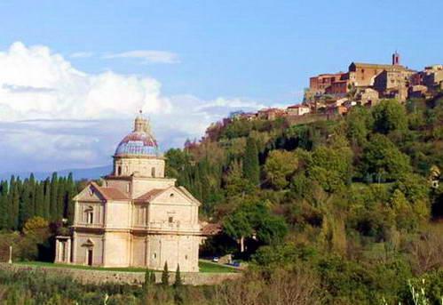 כנסיית סן ביאג'ו במונטפולצ'אנו, איטליה
