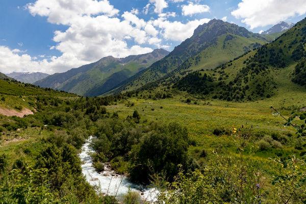 מסלולי טיול בקירגיזסטן