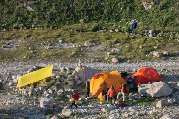 לינת שטח בקירגיזסטן