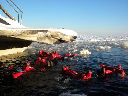 טיול חורף ללפלנד, שוברת הקרח סאמפי