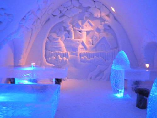 טיול חורף ללפלנד, טירת הקרח בקמי