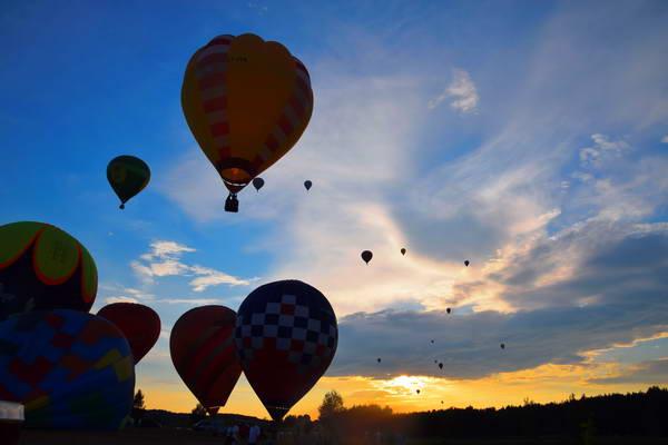 בירשטונאס בליטא, פסטיבל כדורים פורחים
