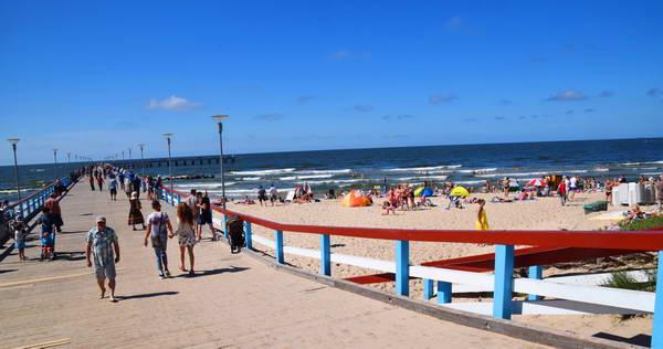 עיירת הנופש פלנגה לחופי הים הבלטי בליטא