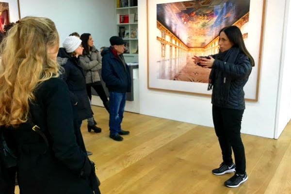 סיור גלריות בלונדון, עם כלנית שכנר לאופר