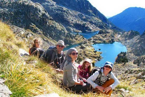 טיול משפחתי בפירנאים, ספרד