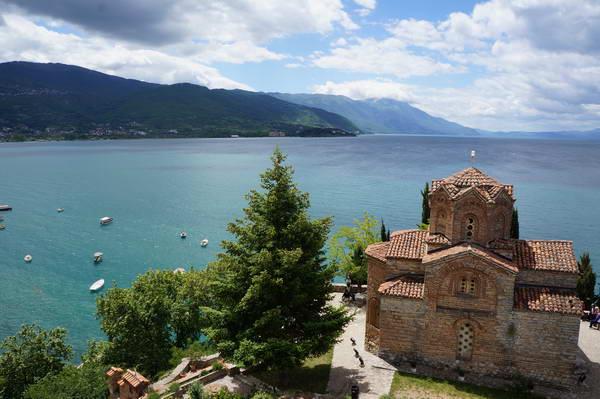 מקדוניה, אגם אוחריד, כנסיית קנאו, סנט יוהן