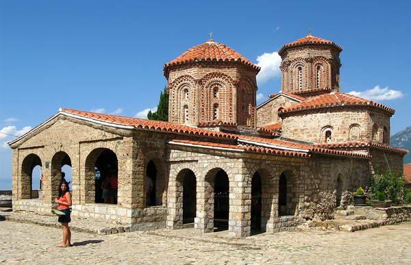 מקדוניה, מנזר של הקדוש נחום