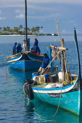 האיים המלדיביים, תושבים מקומיים
