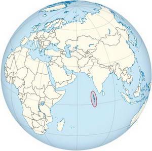 מפת האיים המלדיביים