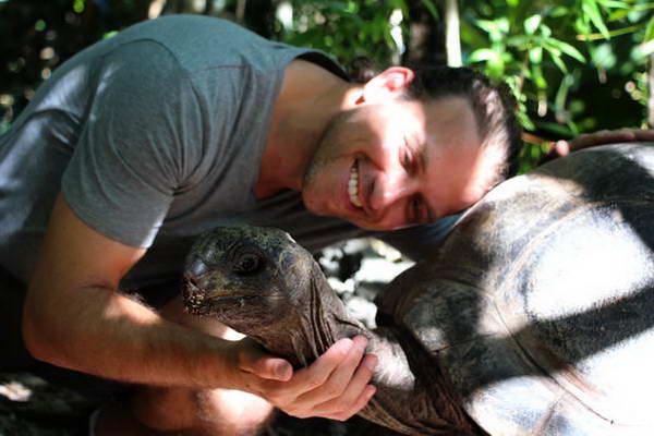 מאוריציוס, צבי ענק