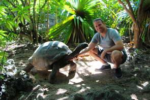 מאורציוס, שמורת טבע, צבי ענק