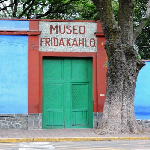 מוזיאון פרידה קאלו במקסיקו סיטי