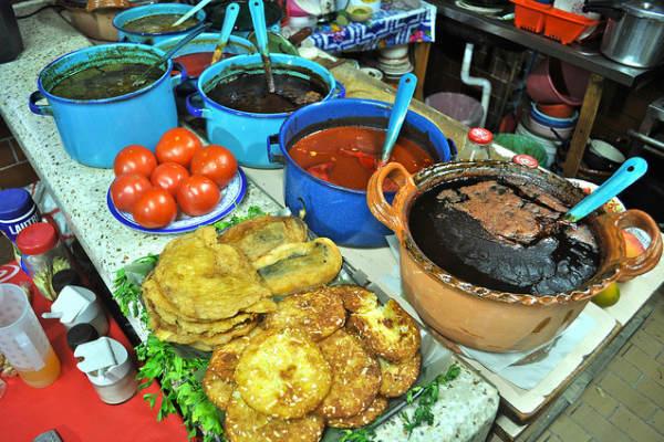 אוכל רחוב מקסיקני