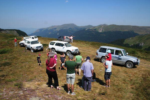 תצפית מרכס ביאלשיצה לעבר אלבניה