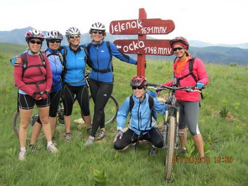 מונטנגרו באופניים, קבוצות נשים