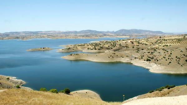 טיול ג'יפים למרוקו, אגם בין איל ווידאן