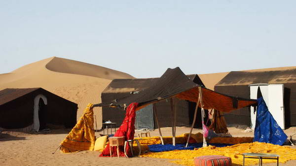 טיול ג'יפים למרוקו, דיונות שיגאגא