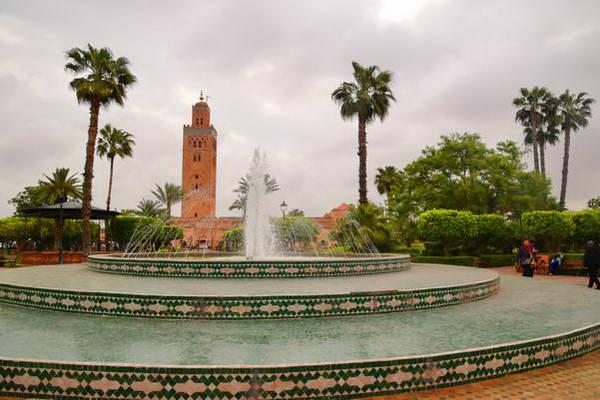 מסגד כותוביה, מרקש, מרוקו