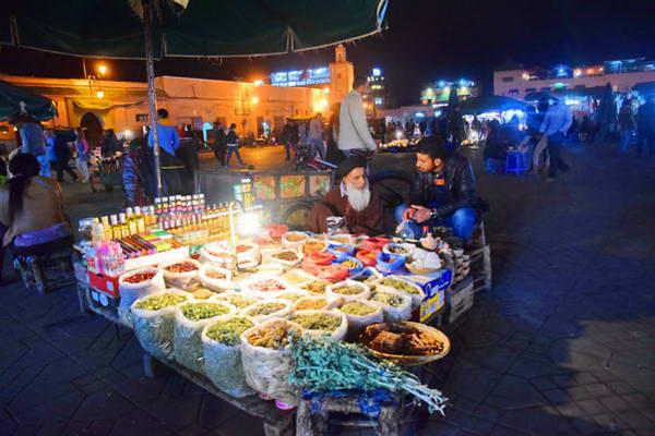 השוק של מרקש, מרוקו