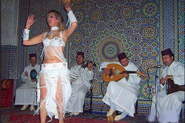 רקדנית בטן במרוקו