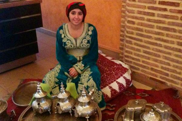 טקס תה במרוקו