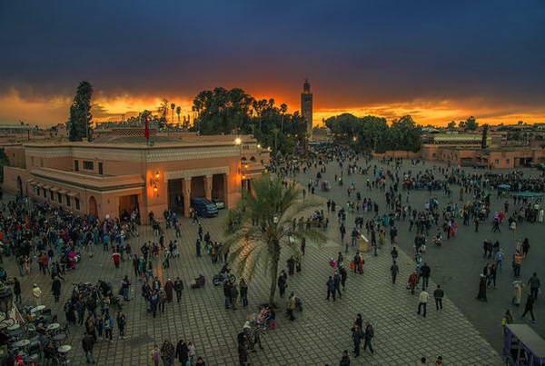 מרוקו, השוק של מרקש
