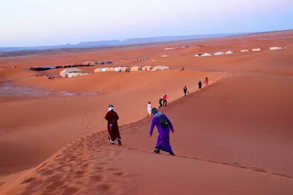 מרוקו, דיונות בסהרה