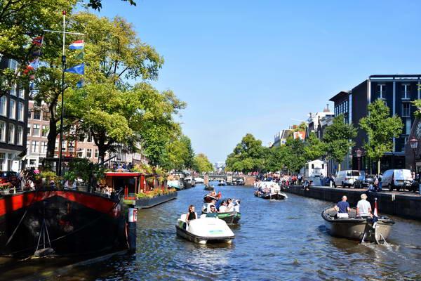 אמסטרדם, תעלת הרנחראחט
