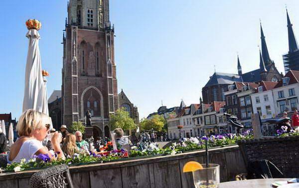 כיכר השוק של דלפט, הולנד