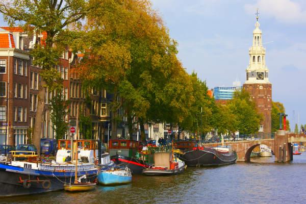 שייט תעלות בהולנד, אמסטרדם