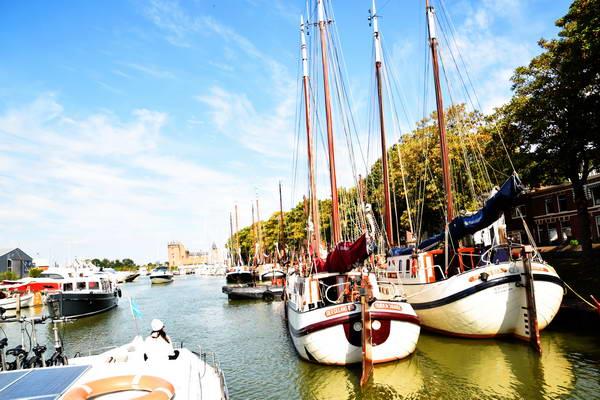 שייט תעלות בהולנד, מאודן