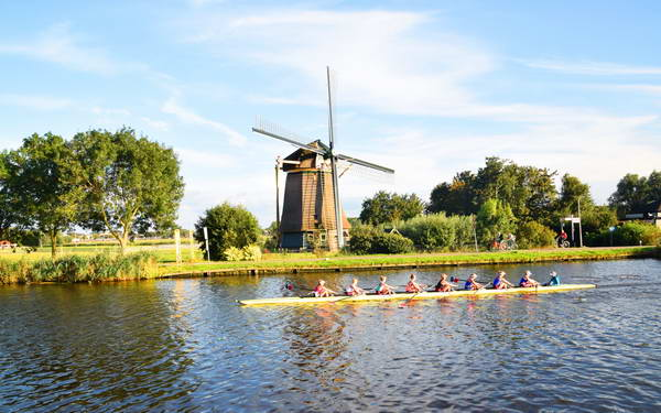 שייט תעלות בהולנד, נהר אמסטל