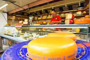 שייט תעלות בהולנד, שוק גבינות